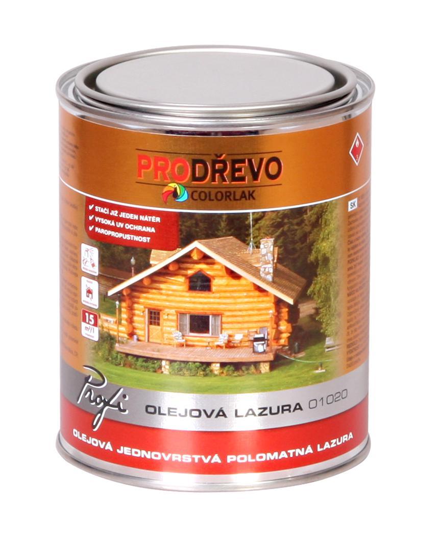 img - PROFI OLEJOVÁ LAZURA O 1020 - 0,75l
